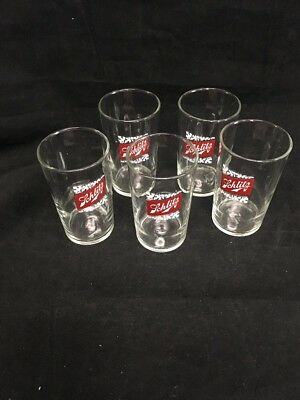 5X Schlitz Bar glass approx 4""