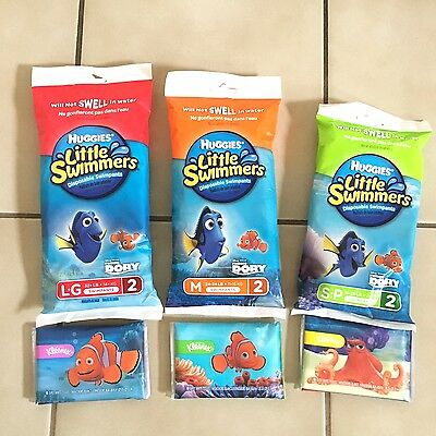 Huggies Little Swimmers Disposable Swimpants Will Not Swell! Choose From 3 Sizes