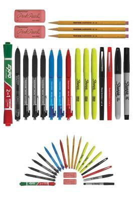 Writing Essentials Kit: Markers & Highlighters, Paper Mate Pens, EXPO Dry Erase