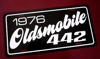 1976 Oldsmobile 442 license plate tag 76 Olds  Muscle Car 4 4 2 performance