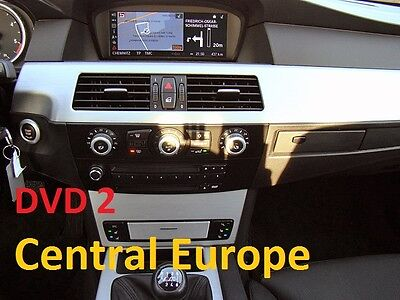 bmw professional navigation update dvd road map europa. Black Bedroom Furniture Sets. Home Design Ideas