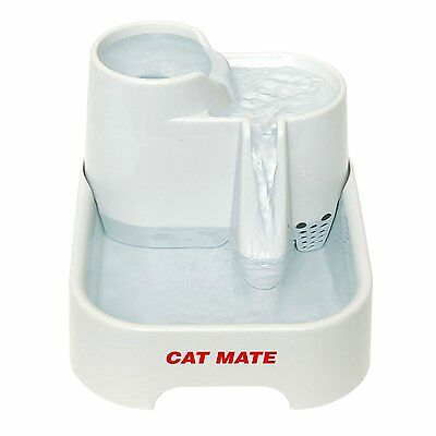 Cat Mate Fresh Water Drinking Fountain for Cats and Small Dogs NEW & FAST