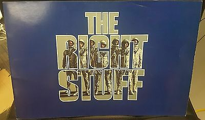The Right Stuff 1983 Picture Book! Great Condition, Collectors Item