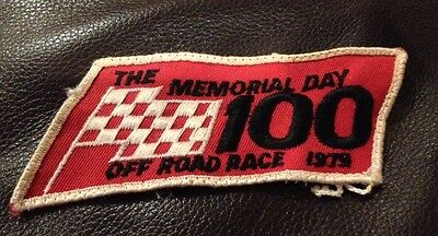Vintage 1979 4 x 4 Unlimited Inc Off Road Race Memorial Day Patch Auto Racing