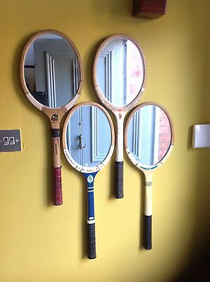 Industrial Tennis Racket Mirror