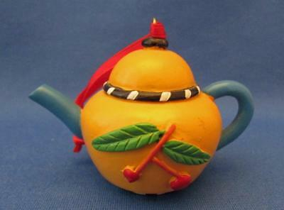 Mary Engelbreit Teapot With Cherries Ornament