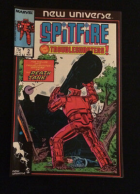 Spitfire and the Troubleshooters #2 (Nov 1986, Marvel)