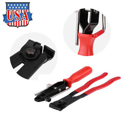 Heavy Duty Hardened Steel Ear Type Joint Boot Clamp Pliers Set CV Clamp Tool US