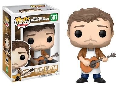 Funko - POP Television: Parks & Recreation - Andy Dwyer Figure New In Box