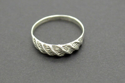 Post Medieval Period Silver Ring. 18 Century