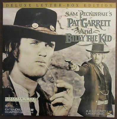 Pat Garrett and Billy the Kid - Director's Cut (1975) - Laserdisc - Peckinpah