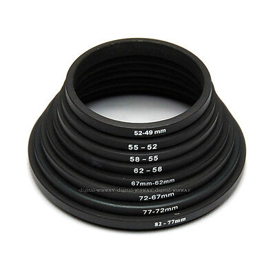 82mm-77mm-72mm-67mm-62mm-58mm-55mm-52mm-49mm Down Rings