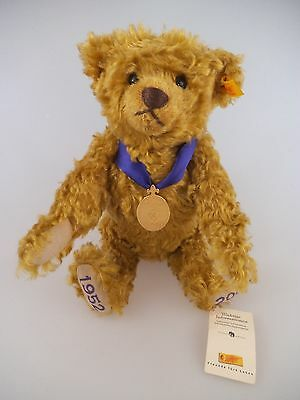 Steiff Teddy 660740 Golden Jubilee UK 2002 30cm Made exclusively for Danbury Min