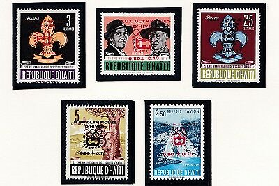 Haiti    1964  18Th Olympic Games  Mnh