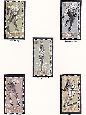 Burundi     1964  18Th Olympic  Games    Mnh