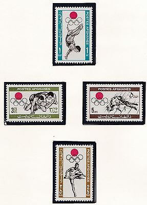 Afganistan    1964  18Th Olympic  Games    Mnh
