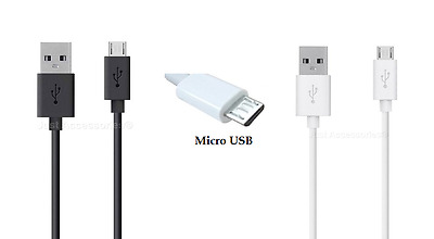 Universal Micro USB Cable Extra Long Short Data Sync Charger Charging Power Lead