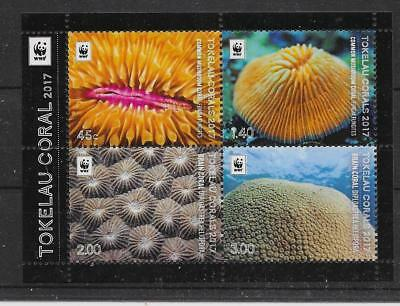 Tokelau Islands 2017 Coral M/s Mnh