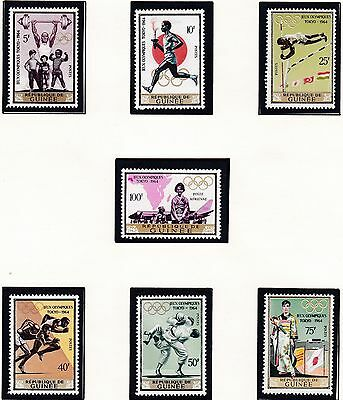Guinea         1964  18Th Olympic  Games Mnh