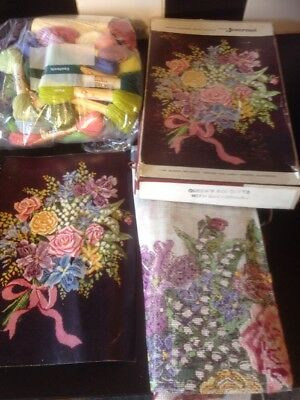 Womans Journal The Queens Bouquet Tapestry Needlework Kit