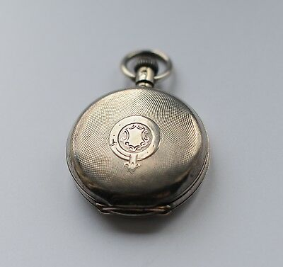 silver pocket watch 1885 fully working
