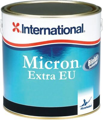 Micron Extra EU International Antifouling 2,5 Lt Noir YBB604 Excellentes Perform