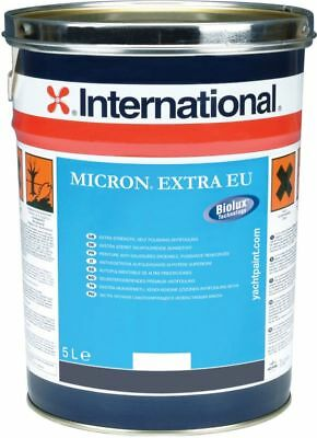Micron Extra EU International Antifouling 5 Lt #458COL1080, Couleur Noir YBB604