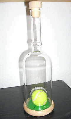 tennisball flasche glasflasche mit tennisball grappa eur. Black Bedroom Furniture Sets. Home Design Ideas