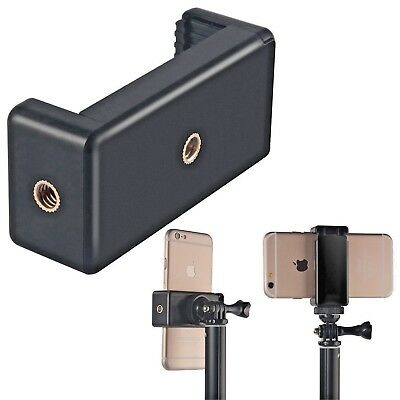 Smartphone Phone Holder Tripod Monopod Mount Clamp iPhone S7 S8 Cell Universal