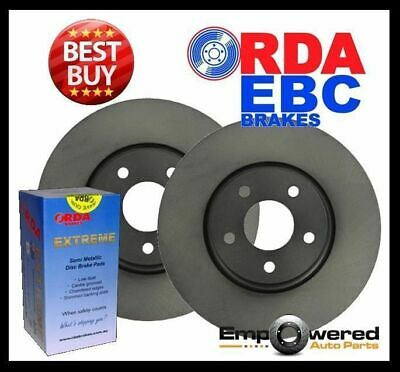 Volkswagen Transporter T5 3.2L V6 333mm 2004 on FRONT DISC BRAKE ROTORS + PADS