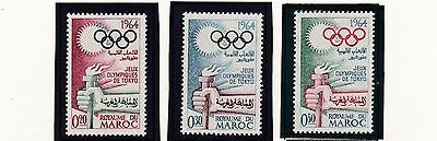 Morocco     1964  18Th Olympic  Games    Mnh   216A