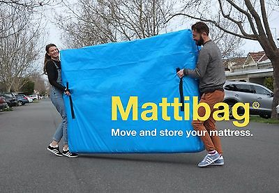Mattress Storage Bag - Heavy Duty Tarp, Zips & Handles