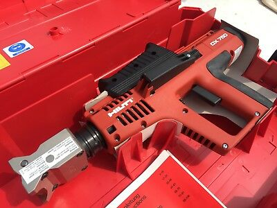 (NEW) HILTI POWDER ACTUATED NAIL GUN / Stamping Tool With Marking Head Dx750