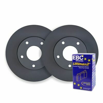Holden Captiva 2.0TD 2.4L 3.2L V6 2006 on FRONT DISC BRAKE ROTORS + PADS RDA7481