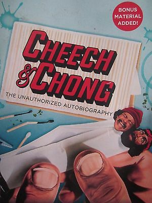Cheech & Chong the unauthorized autobiography Tommy Chong soft cover book