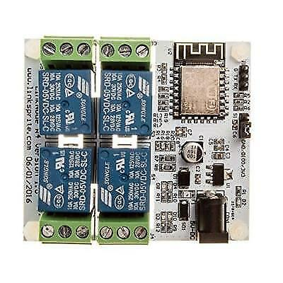 LinkNode R4: WiFi relay controller 4-Channel Relay Module New
