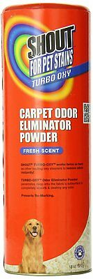 Shout for Pets Stains Turbo Oxy Carpet Odor Eliminator Powder