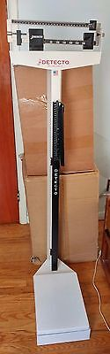Detecto Physician Scale with Height Rod - USED - Good Condition