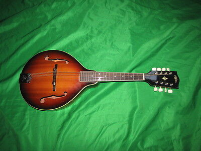 Vintage A Style Aria AM-180 Mandolin Made in Japan New Strings and Plays Nice