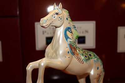 RETIRED & RARE - Appaloosa Peacock - Trail of Painted Ponies - 1E/ 3163