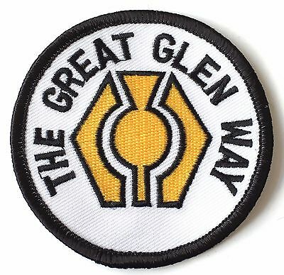 The Great Glen Way Scotland Embroidered Patch (A302)
