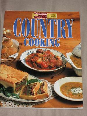 Australian Womens Weekly Cook Book Country Cooking Cookery Recipes