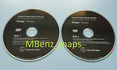 Mercedes Navigation DVD AUDIO 50 APS Europa2015/2016!CD ...