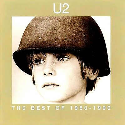 Best Of U2 CD Greatest Hits 1980-1990 80s Singles Rock Compilation Brand New