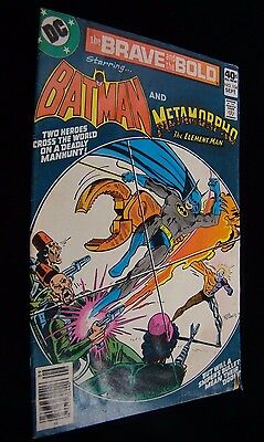 Brave and the Bold #154  Batman and Metamorpho