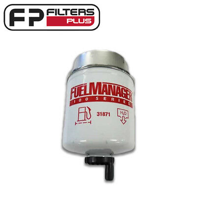 31871 Genuine Fuel Manager Filter - 5 Micron Remove 99% Water Protects injectors