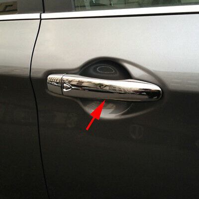 Door Handle Cover For Nissan Qashqai J11 Keyless 2014-2017 Chrome Accessories