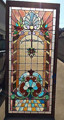 Stained Glass Window Antique