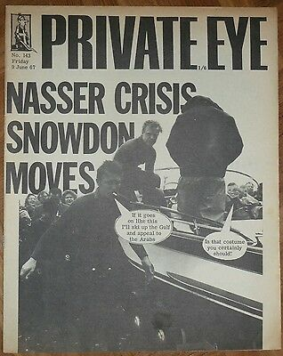 Private Eye Issue 143, 9 June1967
