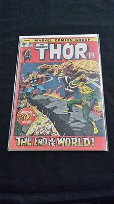 Thor #200 - Marvel Comics - June 1972 - 1st Print - Journey Into Mystery